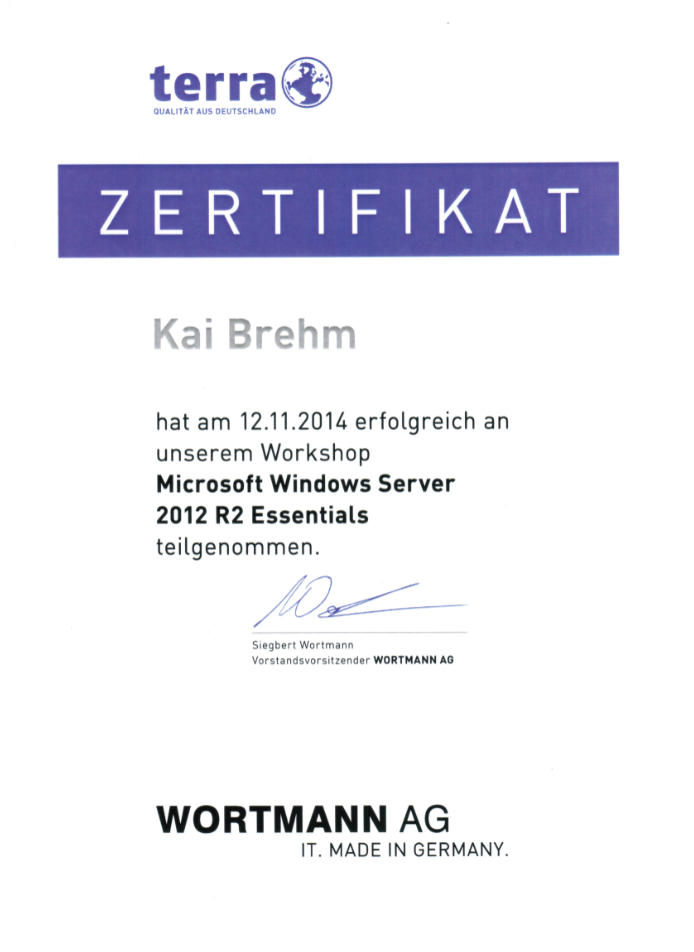 wortmann win server